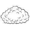 Vector clipart: Cloud ,