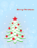 Vector clipart: christmas tree