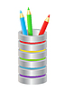 Colored pencils | Stock Vector Graphics
