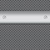 Vector clipart: metal texture