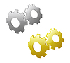 3d gears | Stock Vector Graphics