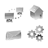 Vector clipart: Web icons