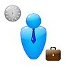Vector clipart: Businessman icon