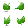 Vector clipart: Eco icons
