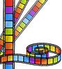 Vector clipart: Color film