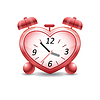 Vector clipart: Time to love
