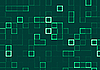 Photo 300 DPI: abstract background of mosaic green tiles