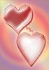 Loving couple hearts | Stock Illustration