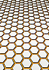 Background of honeycombs | Stock Illustration