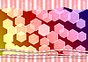 Photo 300 DPI: bokeh hexagonal background
