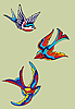 Vector clipart: birds