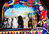 ID 3078973 | Smiling Clown i 7 psów | Foto stockowe wysokiej rozdzielczości | KLIPARTO