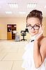 Photo 300 DPI: Secretary in glasses