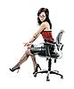 Beauty in chair | Stock Foto
