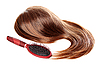 ID 3088261 | Brown wig and hairbrush | High resolution stock photo | CLIPARTO