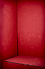Photo 300 DPI: Red grunge corner