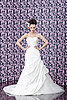 Bride portrait   Stock Foto