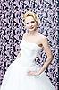 Bride blonde portrait   Stock Foto
