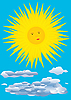 Vector clipart: Sun.