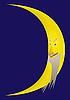 Vector clipart: Moon.