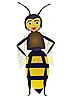 Vector clipart: Bee.