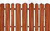 Векторный клипарт: Деревянный забор