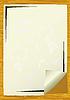 Vector clipart: Sheet of an paper
