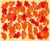 Vektor Cliparts: Herbst Ahorn-Blätter.