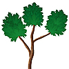 Vector clipart: Abstract tree.