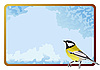 Vector clipart: frame with tit