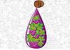 Vector clipart: drop of wine