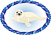 Vector clipart: young seal