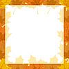 Vector clipart: Autumn frame