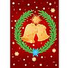 Векторный клипарт: Рождественские колокола