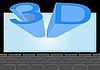 Векторный клипарт: Кино 3D