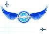 Векторный клипарт: Гражданская авиация