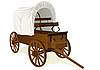 Vector clipart: Covered wagon