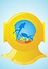 Векторный клипарт: Дайвинг водолазы шлема и подводное