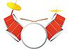 Векторный клипарт: Drum Kit