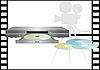 Векторный клипарт: DVD-диски и DVD-плеер