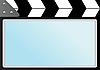 Векторный клипарт: Фильм с фарса кинотеатр