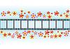 Векторный клипарт: Цветы и кино