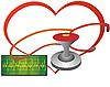 Векторный клипарт: Сердце и стетоскоп