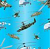 Векторный клипарт: Вертолеты