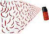 Векторный клипарт: красный перец