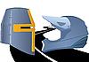 Векторный клипарт: Knight Rider