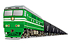 Locomotive with oil