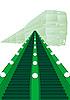 Vector clipart: Metro escalator