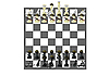 Vector clipart: Military chess