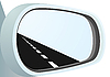 Vector clipart: Mirror and the road